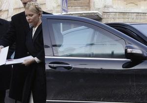 Тимошенко снова прибыла в Генпрокуратуру