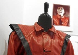 На аукцион выставлена куртка Майкла Джексона из клипа Thriller