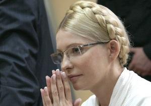Тимошенко обвинила сотрудников Качановской колонии в срыве свидания с Луценко