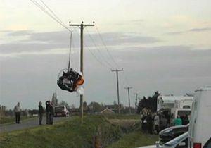 Новости великобритании - странные новости: В Англии парапланерист выжил после падения на электропровода