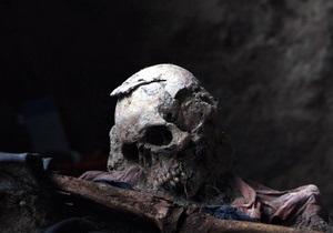В Москве полиция обнаружила пакет с черепами человека и козы