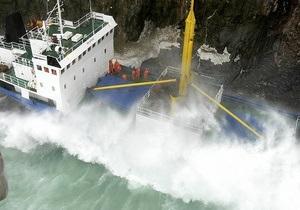 У берегов Крыма затонуло судно. МЧС проводит спасательную операцию
