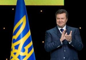 Янукович: В ближайшее время Украина примет закон о двух государственных языках