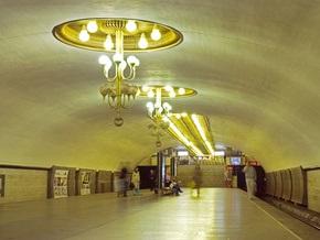 В киевском метро возле касс и турникетов установили видеокамеры