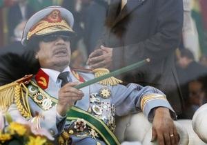 Каддафи: Обама - хороший человек, но его дезинформируют