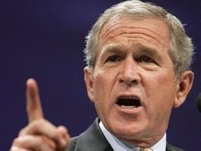 Буш верит, что мир преодолеет глобальный финансовый кризис