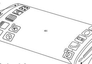Apple взволновала обозревателей идеей гаджета, обернутого сенсорным экраном