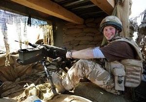 Принц Гарри покинул военную базу в Афганистане после обстрела талибами