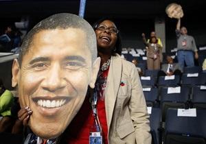 Обама объединил надежды и реализм, надеясь на переизбрание - Reuters