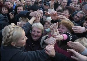 Тимошенко: Сумскую область превращают в полигон по уничтожению страны