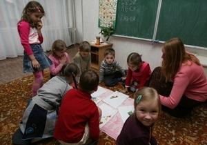 Количество киевских первоклассников вновь вырастет в этом году