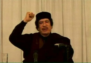 Каддафи обвинил Великобританию в продолжающемся ливийском кризисе