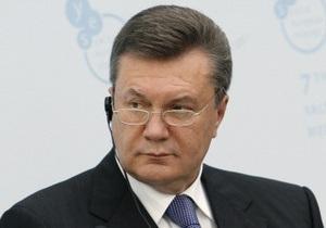 Янукович: Украинский народ скоро узнает своих  героев