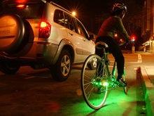 Американка таранила велосипедиста-вора на автомобиле