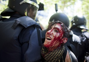 Мы не террористы, мы шахтеры: в Мадриде в столкновениях с полицией пострадали более 70 человек