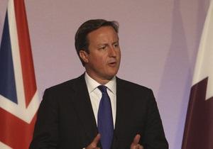 Кэмерон: Кризис еврозоны угрожает мировой экономике