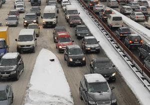 Длина пробки на Одесской трассе достигла 100 километров - агентство