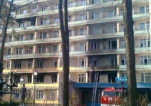 В Хмельнике умер гражданин Молдовы, который во время пожара выпрыгнул с четвертого этажа