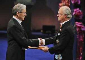 В Стокгольме прошла церемония награждения лауреатов Нобелевской премии