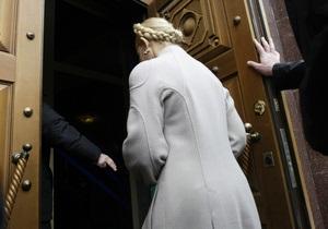 Тимошенко в очередной раз вызывают в Генпрокуратуру