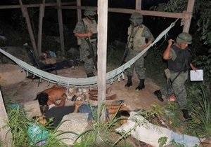 В Мексике неизвестные расстреляли шестерых человек