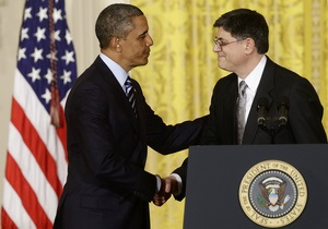 Джек Лью утвержден на пост министра финансов США