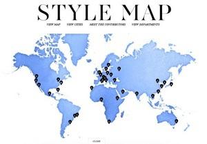 Киев попал на мировую карту стиля - Style Map