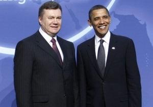 Обама поблагодарил Януковича за высокообогащенный уран