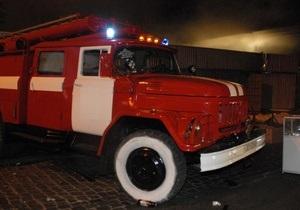 МЧС: Пожар в доме в центре Киева потушен