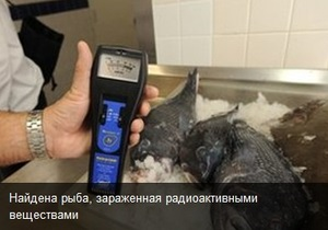 Содержание радиоактивного цезия в рыбе у Фукусимы выше нормы в 25 раз