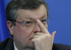 Газовый вопрос: Литвин предлагает Раде заслушать отчет главы МИДа