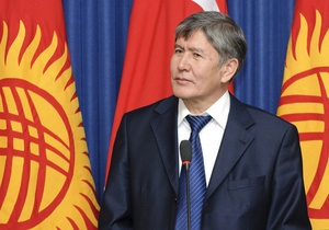 Новым президентом Кыргызстана стал Алмазбек Атамбаев