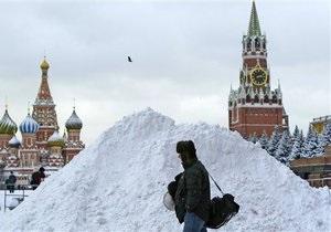 Охрана Кремля ликвидировала гигантскую сосульку