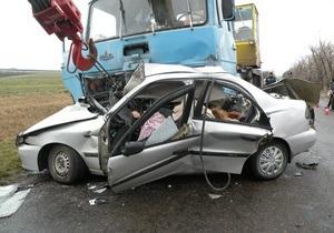 В ДТП в Николаевской области погибли три человека