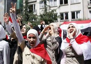 Совбез ООН осудил действия властей Сирии против населения