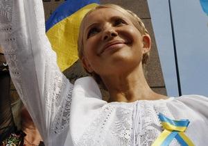 Тимошенко в СИЗО вывесила желто-голубую ленточку и написала 20 тезисов