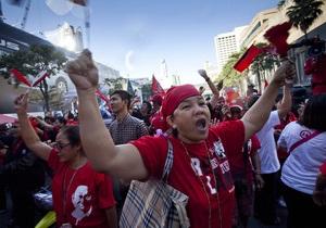 В Бангкоке прошел многотысячный митинг краснорубашечников