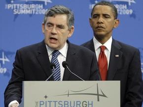 Браун констатировал, что G-20 стала основным механизмом по управлению мировой экономикой