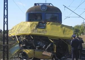 МВД: Водитель маршрутки, протараненной поездом, мог быть сектантом