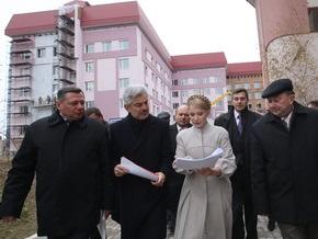 На Волыни перед приездом Тимошенко разогнали пикет медиков инфекционной больницы