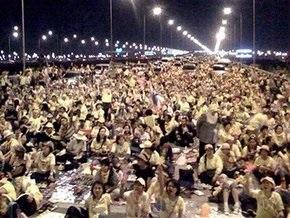 Погром в международном аэропорту Бангкока: вылеты отложены