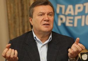 Янукович обратился к народу: Она делает ставку на ложь. Я - на правду