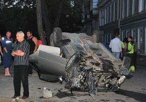 ДТП в центре Одессы: один человек погиб и четверо госпитализированы