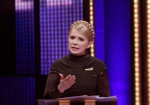 Тимошенко обещает повышение пенсий после завершения кризиса