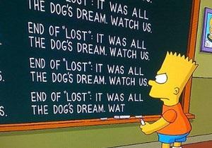 Симпсоны раскрыли тайны сериала Lost