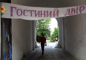 Янукович разрешил приватизацию Гостиного двора в Киеве