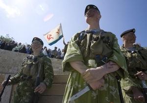 Киев и Москва разрабатывают документ о перемещении военных ЧФ по Украине вне мест их дислокации