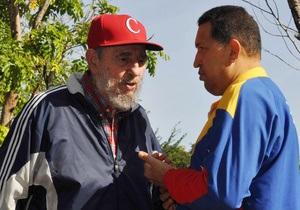 Чавес опроверг слухи об ухудшении здоровья Фиделя Кастро