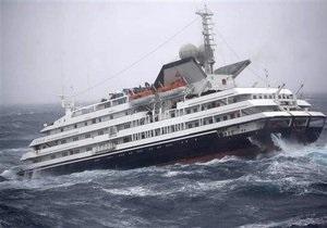 Попавший в шторм круизный лайнер с украинцами на борту добрался до Аргентины
