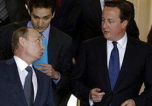 Кэмерон: взгляды Москвы и Лондона на Сирию различаются